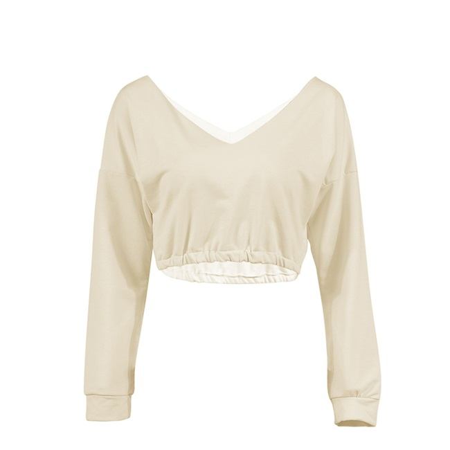 5af2ef16752 ... Short Hoody Top Women Pullover Autumn Knitted Cropped Tops Hoodies  Female Winter Crop Top Jumper Pullover-in Hoodies & Sweatshirts from Women's  Clothing ...