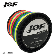 Brand 1000M 8 Strand PE Multifilament Braided Fishing Line Saltwater / Freshwater 15 20 30 40 50 60 80 LBS