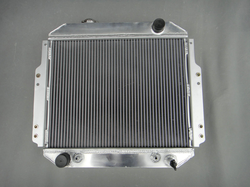 ALUMINUM RADIATOR 1988 1992 For NISSAN FORKLIFT A10 A25 H20 OEM 2146090H10 A T 56MM 1988