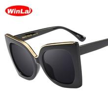 LUFA lunettes de soleil dames Cadre Retro Gradient Objectif Métal Femmes Lunettes de soleil UV400 Lunettes Lunettes de soleil 8# PgACHW419V