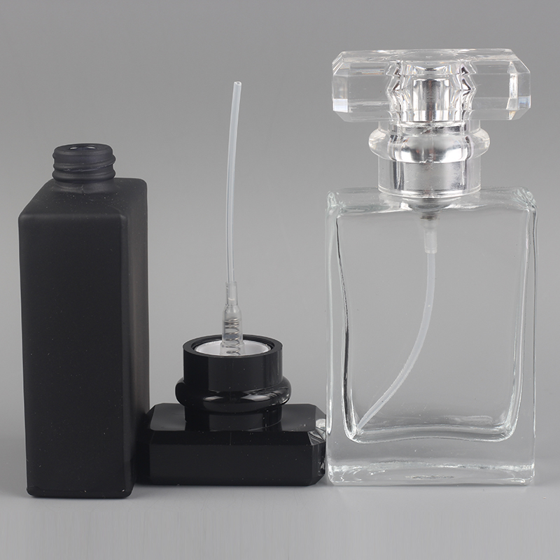 YB-34 30ml transparent glass empty bottle perfumes