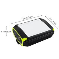 Outdoor Camping Flashlight Mobile Power Bank With USB Port Portable Hanging Lamp Tent Light