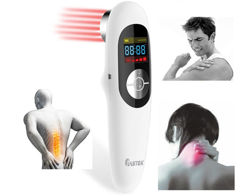 LASTEK 808nm cold laser therapy pain relief therapy laser acupuncture 808nm body pain back shoulder elbow wrist pain relief laser healthcare 13 diode cold low level laser therapy device