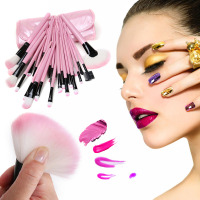 32pcs Pro Makeup Brushes Eyeshadow Eyeliner Lip Brush Powder Foundation Tool Set High Quality