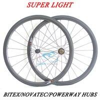 DEERACE 1059g Superlite 38mm 700c Carbon Tubular Road Bike Wheels 23mm/25mm Wide Bicycle Wheelset with Pillar 1420 Aero Spokes