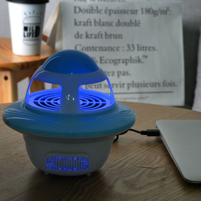 USB Electronics Mosquito Killer Lamp Pest Control Electric Fly Trap Mosquito Killer LED Light Lamp Bug Insect Repeller