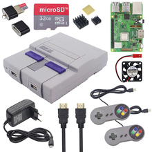 Raspberry Pi 3 Model B Plus Gaming kit+Power Supply+32G SD Card+HDMI Cable+Heat Sink+Retroflag NESPi Case for Retropie 3B Plus raspberry pi 3 model b 3 starter kit case 16 32g sd card fan power adapter hdmi cable heat sink for rpi 3 3b