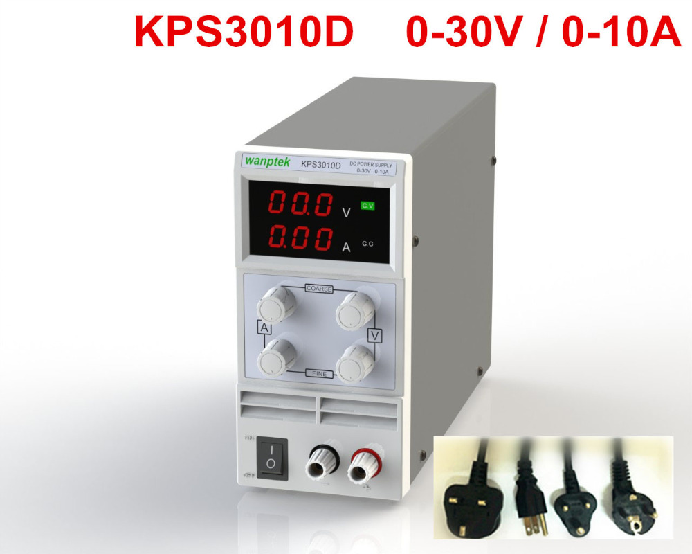 wanptek kps3010d Mini Adjustable Digital dc power supply ,30V 10A ,110V-220V Switching Power supply 0.1V/0.01A variable original lw mini adjustable digital dc power supply 0 30v 0 10a 110v 220v switching power supply 0 01v 0 01a 34 pcs dc jack