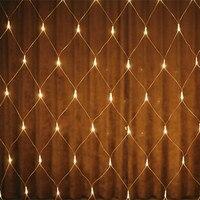 3M X 2M 196 LED Net Light Red De La Lampara Christmas Wedding Party Decoration Outdoor