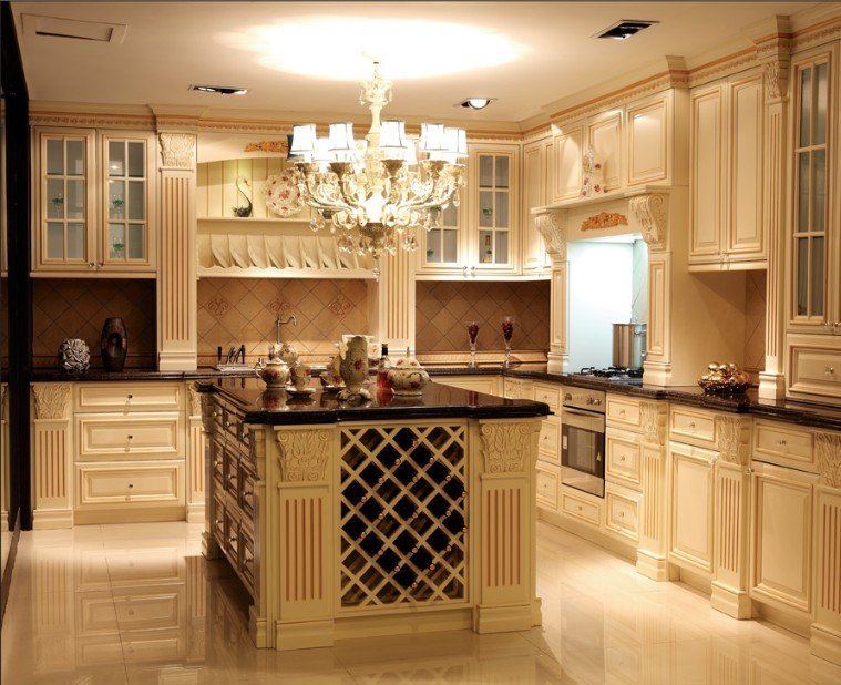 Kitchen Cabinet Customer Made Kitchen Cabinetry Kitchen Linen Free Design  Armario De Cozinha(China ( Part 18