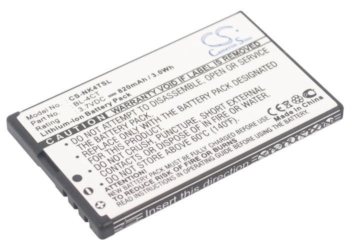 BL 4CT Battery For NOKIA 5310,6600 Fold,6600f,6700 Slide