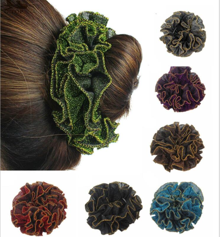 New fashion women hair rope hair ring elastic hair bands dance hair accessories for lady flower headbands hairclips lnrrabc 12pcs pack elastic hair bands headband stretchy hair rope rubber bands hair accessories for accessoire cheveux