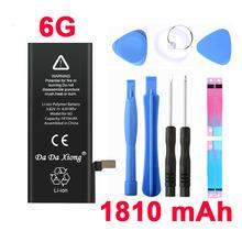100 original Brand Da Da Xiong 1810mAh Genuine Li ion Mobile Phone Accessory Replacement Battery Pack