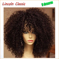 Hot Sale Beautiful Natural Afro Kinky Curly Wig Brazilian Virgin Human Hair Kinky Curly Lace Front Wigs Glueless For Black Women
