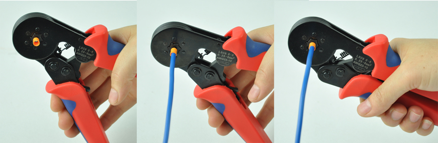 isereguleeritav survetööriist LSC8-6-6 0,25-6mm2 kummipaela - Käsitööriistad - Foto 2