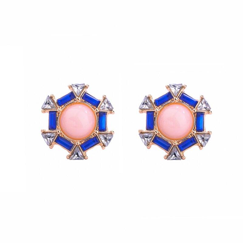 New Design Geometric Stud Earrings for Women Online Shopping India Trendy Brand Jewelry Earrings 2017