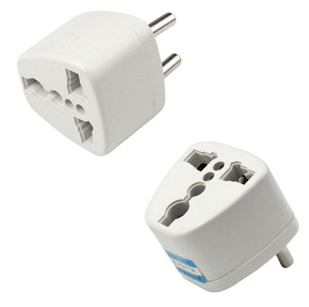 Free shipping High Quality Universal AU US UK to EU AC Power Plug Travel Adapter Outlet Converter Socket Dropship JUL06