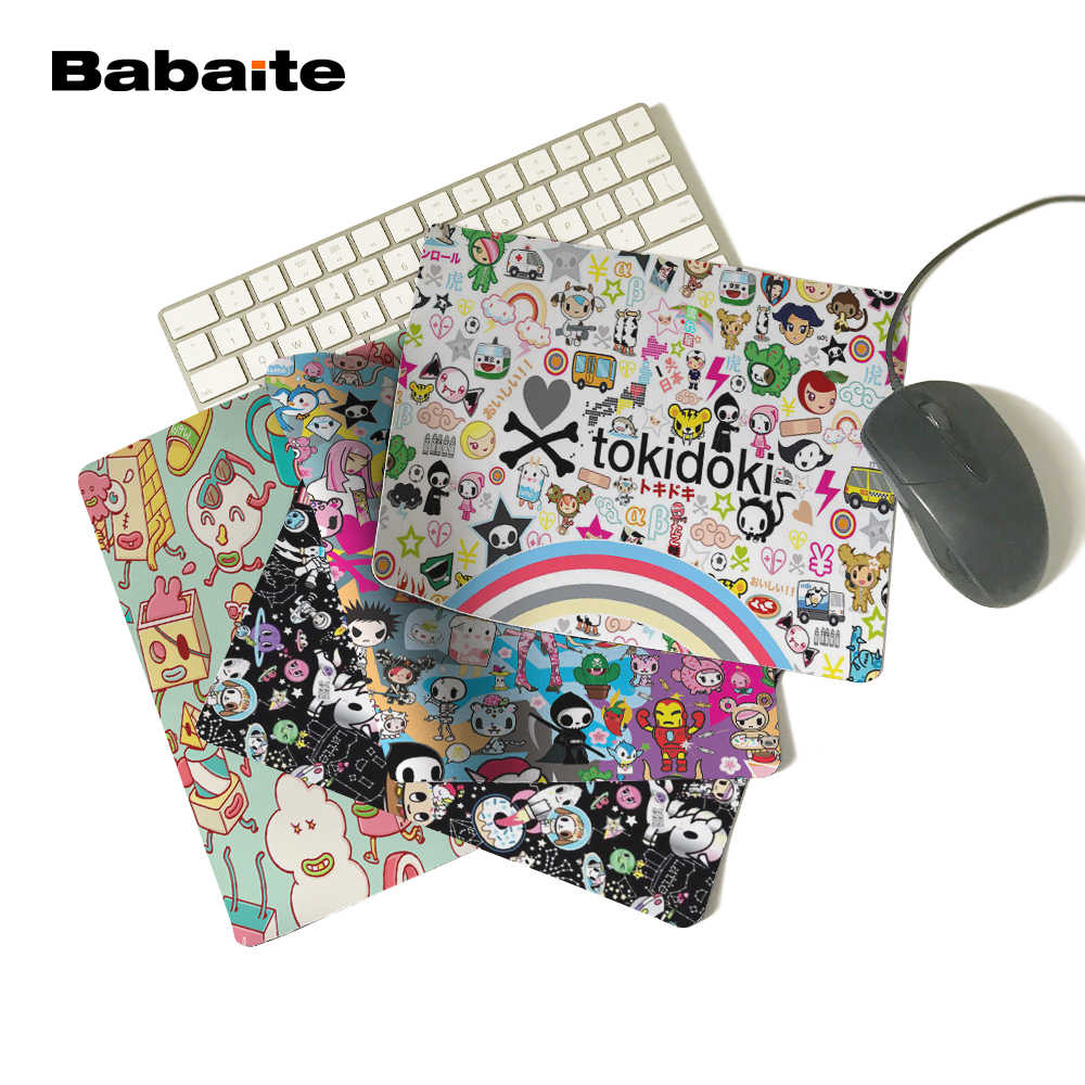 Babaite Tokidoki Rainbow Hot Sale Free Shipping 180X220X2MM 250X290X2MM Rectangle Mat Gaming Mouse pad