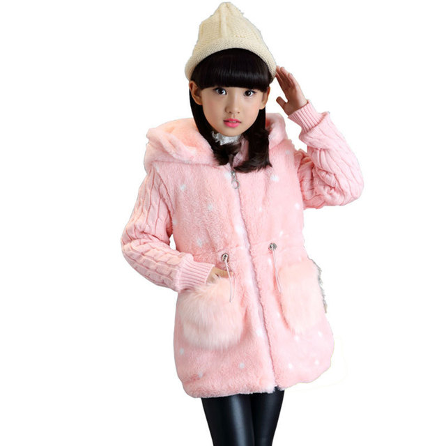 Aliexpress.com : Buy Autumn Winter Jacket For Girls 3 4 5 6 7 8 9 ...