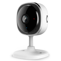 SANNCE HD 1080P Fisheye IP Camera Wireless CCTV Mini Wifi Camara Night Vision IR Cut Home