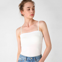 2019 Fashion new Women Summer Sleeveless Tops white Sexy Cotton Large size Tops Tees Solid color Loose Tops women