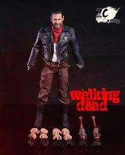 1/6 Negan action figure seti Lucille için yürüyüş ölü çok sıcak oyuncaklar