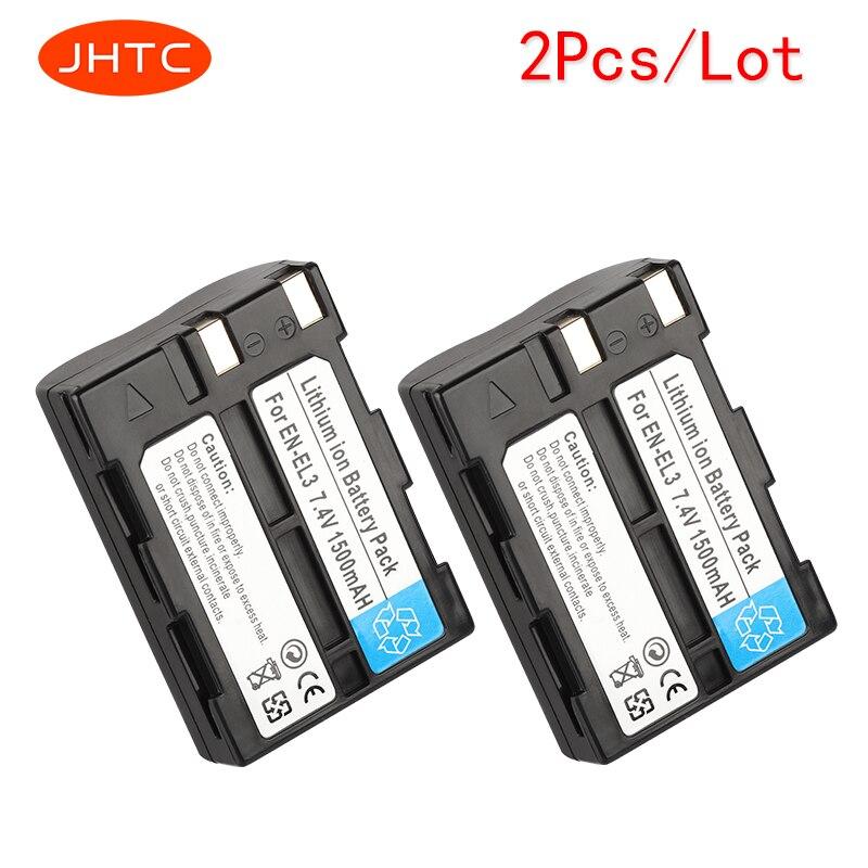 JHTC 2pcs/lot 1500mAh EN-EL3 EN-EL3A Camera Battery for Nikon D100 D70Outfit, D70s Set, D50 Set ,D100 D70 D800 D800E V1 D11 D90 JHTC 2pcs/lot 1500mAh EN-EL3 EN-EL3A Camera Battery for Nikon D100 D70Outfit, D70s Set, D50 Set ,D100 D70 D800 D800E V1 D11 D90