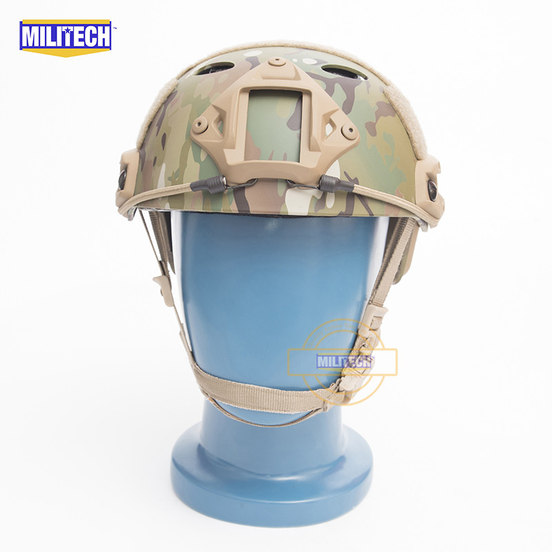 MILITECH FAST MC PJ Carbon Style Vented Airsoft Tactical Helmet Ops Core Style High Cut Training Helmet Ballistic Style Helmet militech fast atau pj carbon style vented airsoft tactical helmet ops core style high cut training helmet ballistic style helmet