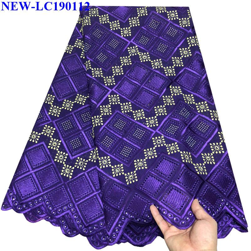 2019 Latest Style African Lace 2019 Swiss Cotton Dry Lace Fabric High Quality Swiss Voile Lace