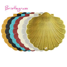 32608c58a76c BRISTLEGRASS 1 Set Sample Personalised Sea Shell Beach Wedding Invitations  Day Evening Invite Party Event Greeting