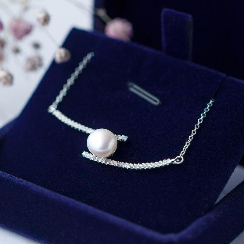 ヾ(^▽^)ノRetro real. Perlas de agua dulce trenzado doble arco bar ...