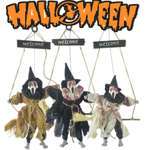 Halloween Hanging Decoration Giant Realistic Hairy Outdoor Yard Decor New