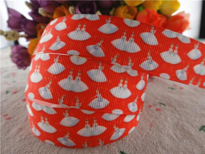 17102514,New arrival 78 (22mm) 10 yardslot christmas printed grosgrain ribbons cartoon ribbon DIY handmade materials