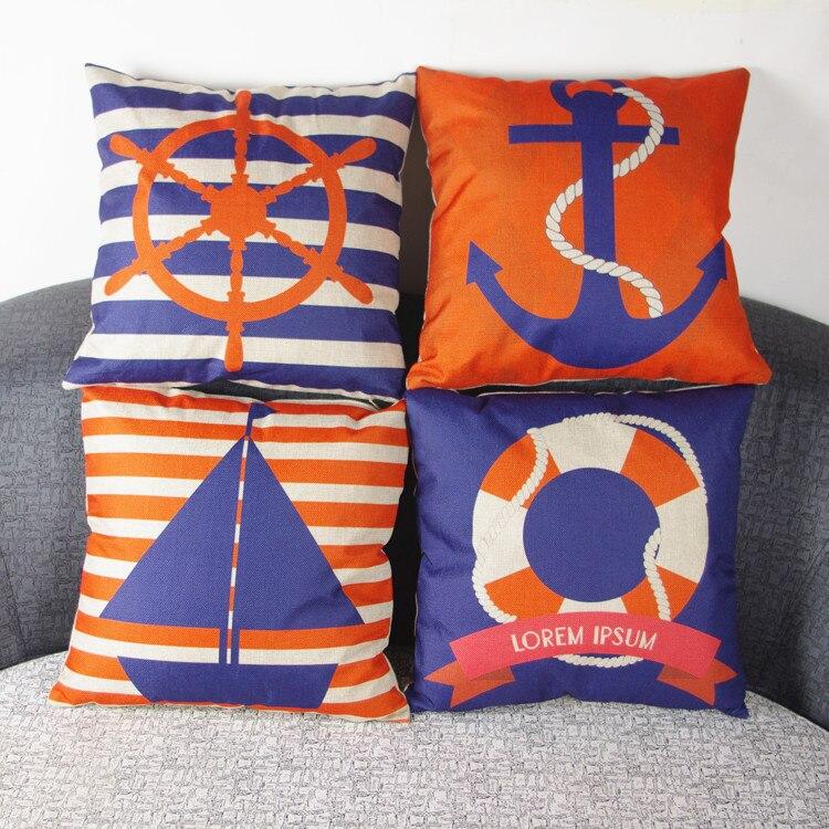 Decorare Cuscini.Sedile Cuscino Senza Anima Marine Decorativa Home Decor Divano
