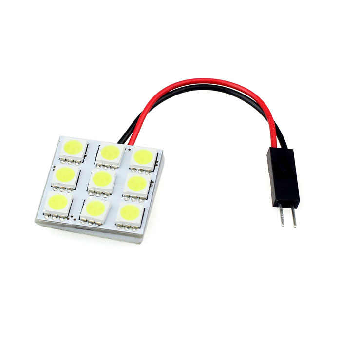 AUTO 9 SMD 5050 LED T10 BA9S LED Panel Dome CANBUS Error Free Car Light Bulb Interior LED Dome Light Bulb car stylingfeb16