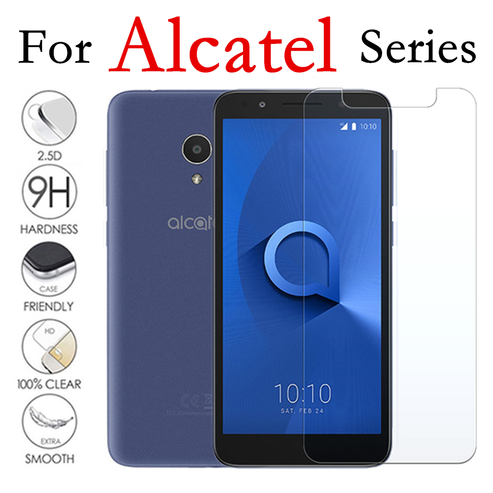 Protective Glass On The For Alcatel U5 Screen Protector 1x Tempered Glas U 5 1 X Tremp X1 5u Protection Protect Safety 9h Film