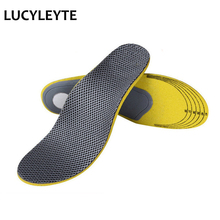 Free shipping Unisex Sweat deodorant damping Arch support Shoe Insoles Insert Cushion for Men Women Wear-resistant  breathable