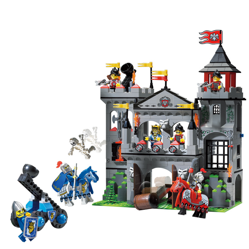 Building Blocks The camellia castle Compatible with Legoelieds Educational DIY Toys for Children 568pcs 1021 building blocks super heroes back to the future doc brown and marty mcfly with skateboard wolverine toys for children gift kf197