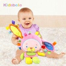 Детские успокаивающие игрушки кольцо колокола скрипучий звук Развивающие мягкие плюшевые игрушки погремушки Mobiles игрушки для Штаны для девочек с рождественским изображением подарок