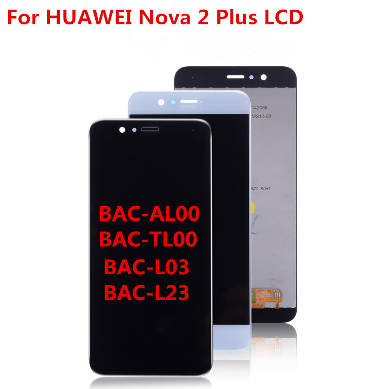 5.5 Original DIsplay For Huawei Nova 2 Plus BAC-L23 BAC-L21 BAC-L03 LCD Touch Screen Digitizer with Frame For Nova 2 Plus LCD5.5 Original DIsplay For Huawei Nova 2 Plus BAC-L23 BAC-L21 BAC-L03 LCD Touch Screen Digitizer with Frame For Nova 2 Plus LCD