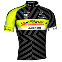 jakroo-austrian-professional-team-vorarlberg-short-sleeve-cycling-jersey-mesh-breathable-sweat-releasing-fans-cycling-clothing