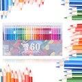 160 цветов деревянные цветные карандаши набор Lapis De Cor художника живопись масляный цветной карандаш для школы принадлежности для художествен...