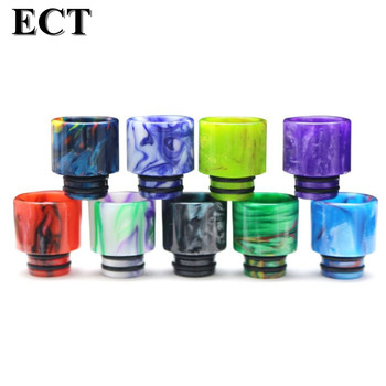 Drip Tip Connector Resin Wide Bore Vape Electronic E-Cigarette Accessory for 510 Thread Mouthpiece Tanks Epoxy RDA RTA Atomizer image