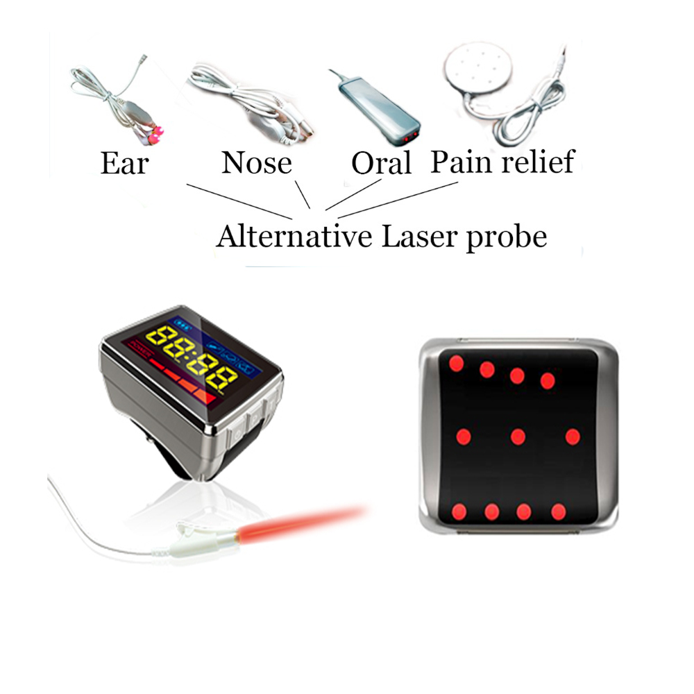 How to Lower High Blood Pressure?COZING Medical Nutrition Physical LLLT Soft Cold Laser Therapy Cardiovascular blood pressure laser therapy watch cardiovascular therapeutic apparatus laser watch laser treatment