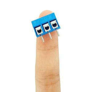 Image 4 - MCIGICM באיכות גבוהה 5.08 301 2 p 2 פינים 3pin PCB הר כוח בורג מסוף בלוק מחבר עבור Arduino