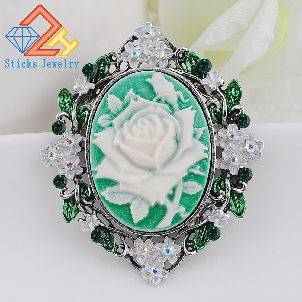 Brooches For Women 2019 Vintage Large Brooches Brand Fashion Brooches For Wedding Bouquets Flower Brooch Luxury Jewelry