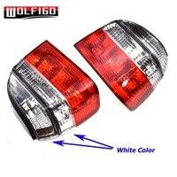WOLFIGO New LED Brake Tail Lights Red & White For VW Golf Mk3 1993 1999 1EM945112,1EM945111