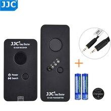 JJC wielofunkcyjny bezprzewodowy pilot zdalnego sterowania dla Fujifilm X T200 X100V X T3 XT20 GFX50S X H1 X Pro2 X T2 XF10 X E3 X100F jak RR 100