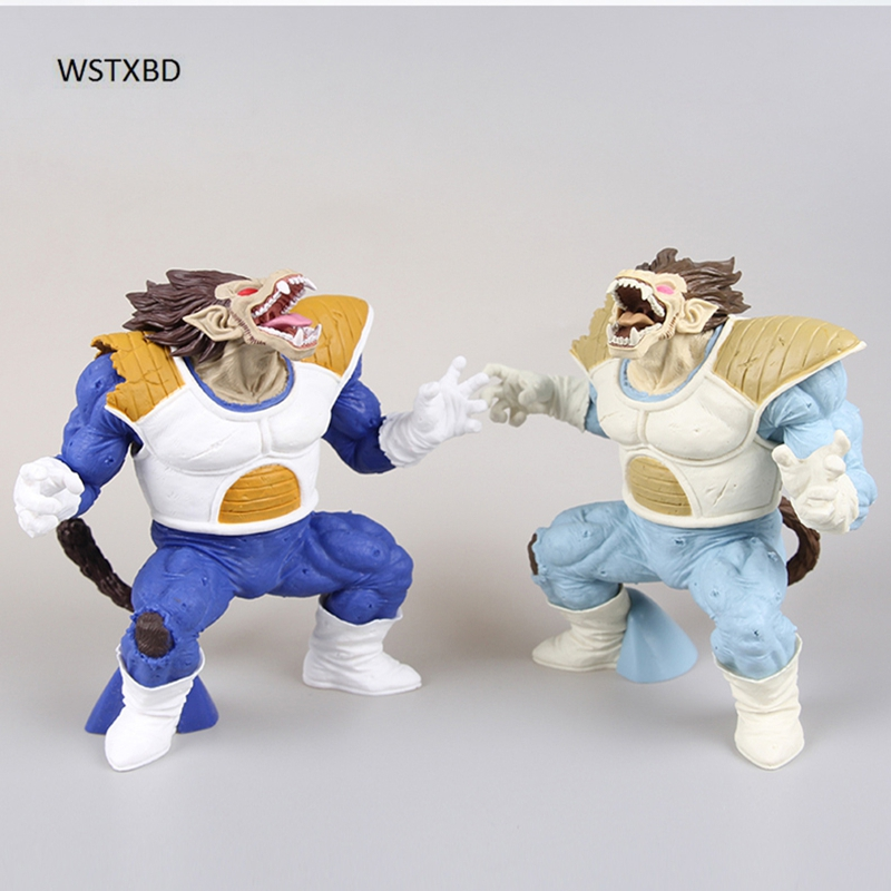 WSTXBD BANPRESTO Original Dragon Ball Z DBZ CxC Ohzaru Vegeta PVC Figure Toys Figurals Dolls cambridge cxc black