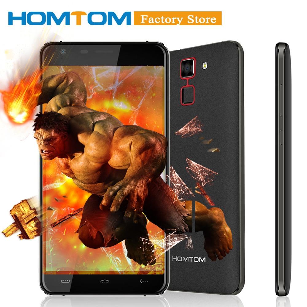 "Original HOMTOM HT30 Smartphone 3G MTK6580 Quad Core 5.5"" 1280*720 Android 6.0 1GB+8GB Dual Cameras 3000mAh Mobile Phone"